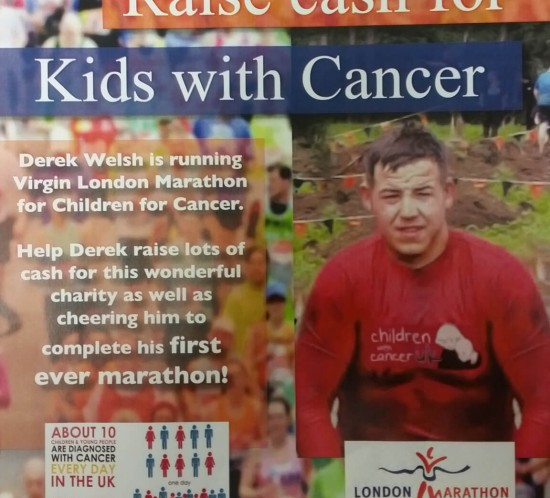 Kids with cancer flyer