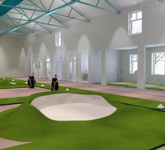 Golf Academy project for Loretto School